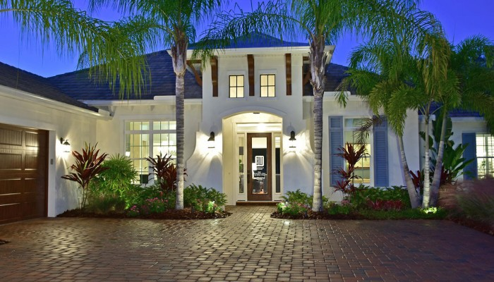Blue Cypress Custom Model Home